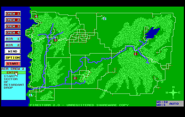 Firestorm: The Forest Fire Simulation Program | ClassicReload com