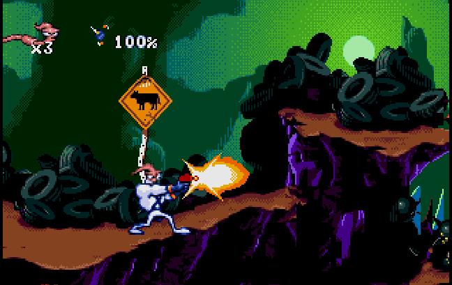 Earthworm Jim un clásico para la Sega Mega Drive Mini
