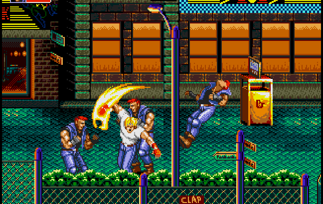 streets of rage 2 best sega genesis games