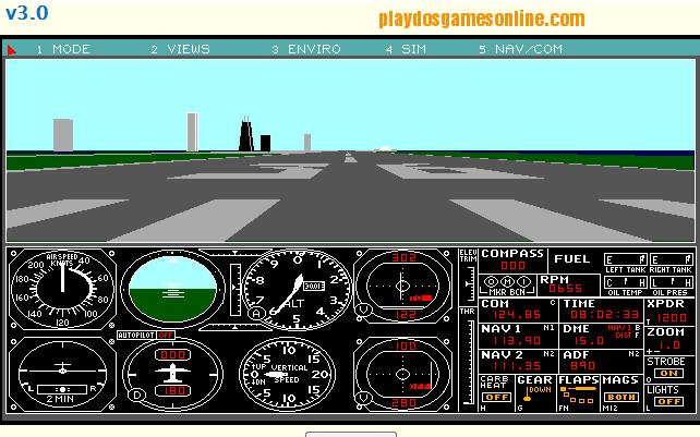 Flight simulator game free online play