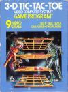 3-D Tic Tac Toe DOS Cover Art