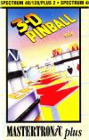 3D-Pinball  - ZX Spectrum Cover Art