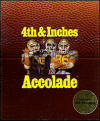 4th and Inches DOS Cover Art