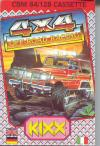 4x4 Off-Road Racing - Cover Art Commodore 64