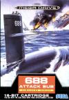 688 Attack Sub - Cover Art Sega Genesis