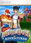 AMS Mini Golf 3D DOS Cover Art