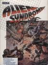 Alien Syndrome DOS Cover Art
