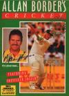 Allan borders cricket DOS Cover Art