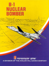 B-1 Nuclear Bomber DOS Cover Art