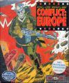 Conflict Europe Original DOS Cover Art