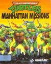 Teenage Mutant Ninja Turtles: Manhattan Missions - DOS Cover Art