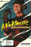 A Nightmare on elm street cover art DOS