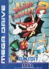 Aero the Acro-Bat 2  - Cover Art Sega Genesis