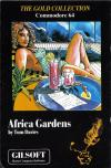 Africa Gardens - Cover Art Commodore 64