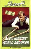 Alex Higgins World Snooker - Cover Art