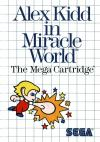 Alex Kidd in Miracle World -Front Cover Art Sega Master System