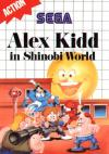 Alex Kidd in Shinobi World  - Cover Art Sega Genesis
