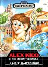 Alex Kidd in the Enchanted Castle  - Cover Art Sega Genesis