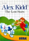 alex kidd the lost-stars -Front Cover Art Sega Master System
