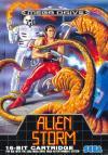 Alien Storm - Cover Art Sega Genesis