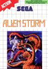 Alien Storm-Front Cover Art Sega Master System
