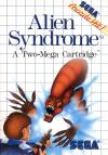 Alien Syndrome - Front Cover Art Sega Master System