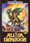 Alisia Dragoon - Cover Art Sega Genesis