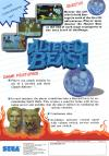Altered Beast - Arcade Flyer