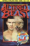 Altered Beast - Cover Art ZX Spectrum
