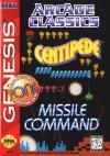 Arcade Classics - Cover Art Sega Genesis