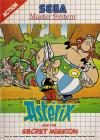 Asterix and the Secret Mission-Front Cover Art Sega Master System