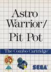 Astro Warrior & Pit Pot -Front Cover Art Sega Master System