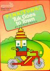 Tink! Tonk! - Tuk Goes to Town - Cover Art Commodore 64