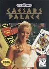 Caesars Palace - Cover Art Sega Genesis