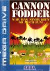 Cannon Fodder - Cover Art Sega Genesis