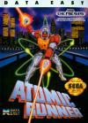 Chelnov: Atomic Runner - Cover Art Sega Genesis