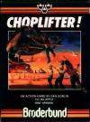 Choplifter - Cover Art Apple II