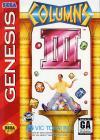 Columns III: Revenge of Columns - Cover Art Sega Genesis