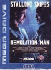 Demolition Man - Cover Art Sega Genesis