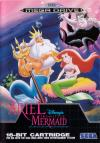Ariel the Little Mermaid - Cover Art Sega Genesis