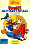 Donald's Alphabet Chase, DOS Cover Art