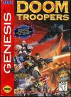 Doom Troopers: Mutant Chronicles - Cover Art Sega Genesis