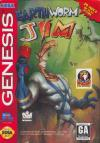 Earthworm Jim  - Cover Art Sega Genesis