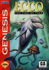 Ecco: The Tides of Time - Cover Art Sega Genesis