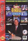 ESPN Baseball Tonight - Cover Art Sega Genesis