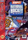 ESPN National Hockey Night - Cover Art Sega Genesis