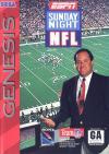 ESPN Sunday Night NFL - Cover Art Sega Genesis