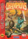 Eternal Champions - Cover Art Sega Genesis