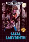 Fatal Labyrinth - Cover Art Sega Genesis
