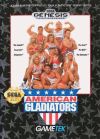 American Gladiators - Cover Art Sega Genesis